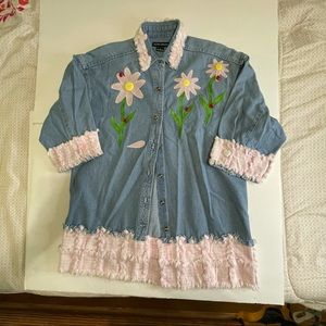 Sierra Pacific size Small flowers/ladybugs/buttons